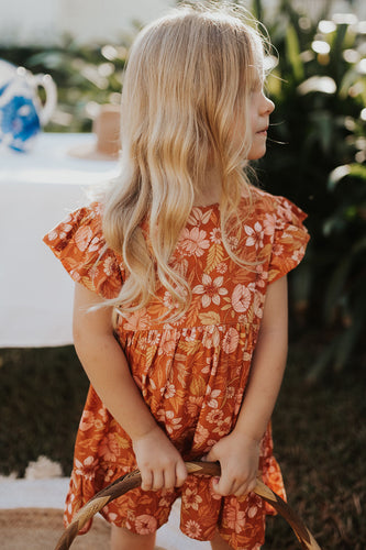 Piper Dress / Autumn Floral