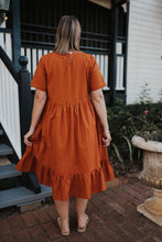 Eden Midi Dress / Auburn
