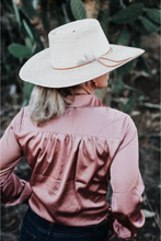 Spinifex + Co / Desert Blouse / Dusty Pink