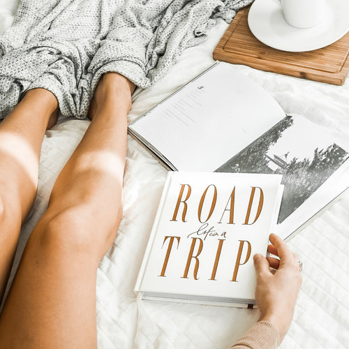 LIFE'S A ROADTRIP / Journal - White