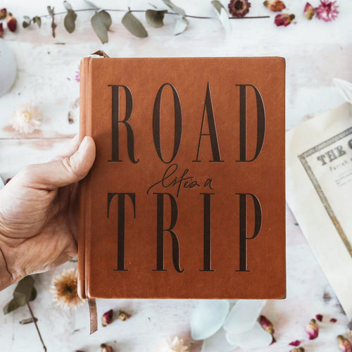 LIFE'S A ROADTRIP / Journal - Tan
