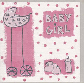 BABY GIRL GIFT CARD A009