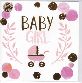 BABY GIRL GIFT CARD A114
