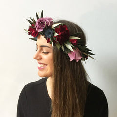 BERRY FLOWER CROWN