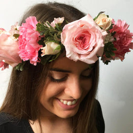 BLOSSOM FLOWER CROWN