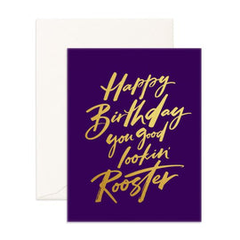 GOOD LOOKIN' ROOSTER GREETING CARD