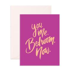 YOU. ME. BEDROOM. NOW. GIFT CARD