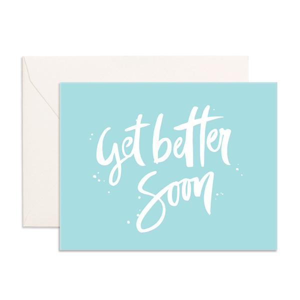 GET BETTER SOON GREETING CARD