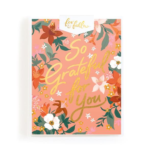 SO GRATEFUL FOR YOU GREETING CARD