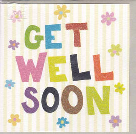GET WELL SOON GIFT CARD A033