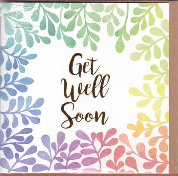 GET WELL SOON GIFT CARD D50