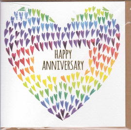 HAPPY ANNIVERSARY GIFT CARD D32
