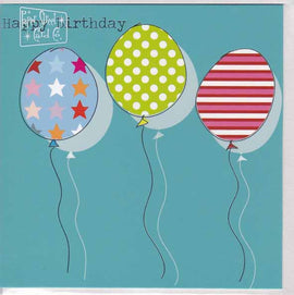 HAPPY BIRTHDAY GIFT CARD MG79