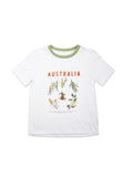 "RYDER LABEL ""NATIVE WATTLE"" TEE"