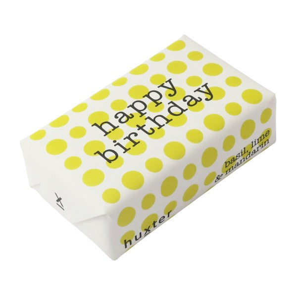 HAPPY BIRTHDAY DOT SOAP