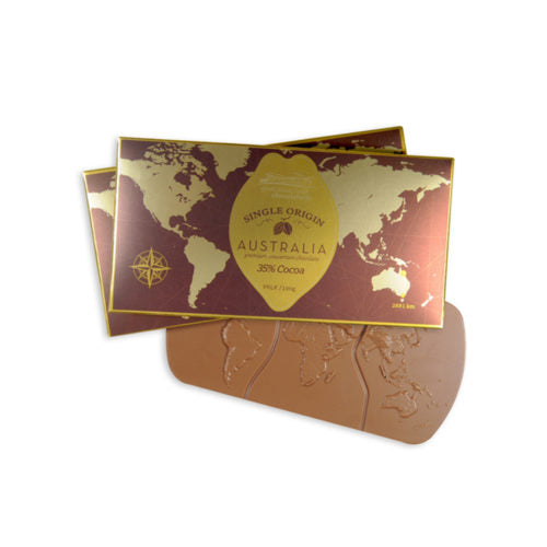 SINGLE ORIGIN 100gm AUSTRALIAN CHOCOLATE