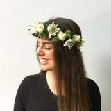 SNOW FLOWER CROWN