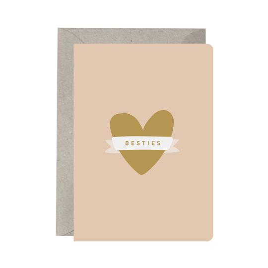 BESTIES GREETING CARD