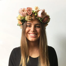 FOREST FLOWER CROWN