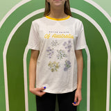 "RYDER LABEL ""NATIVE DAISY"" TEE"