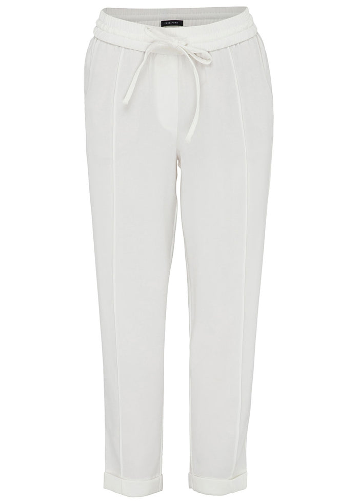 pinstitch cropped trouser