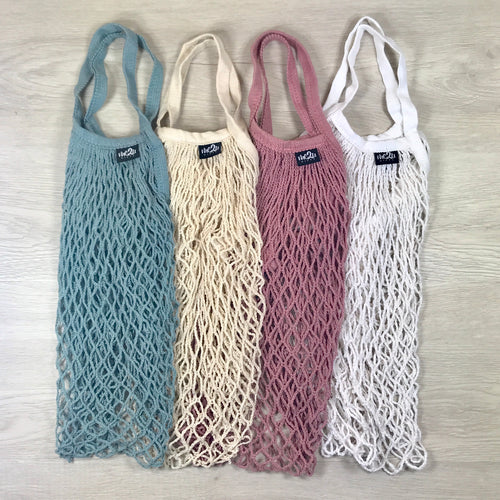 Organic Cotton Carry Bags (4 Pack)