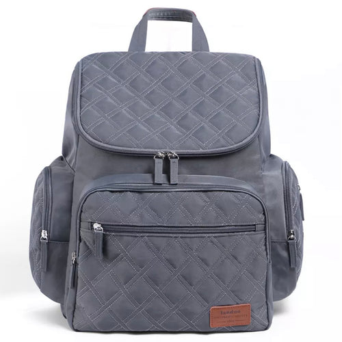 NAPPY BAG - Charcoal