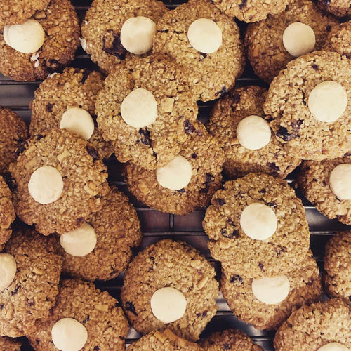 Lactation Cookies - White Chocolate & Cranberries (9pack)