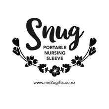 Snug Nursing Sleeve - White Arrow