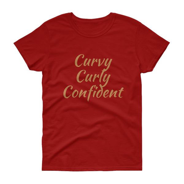 Curly Curves Statement Tee