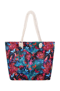 Tropics tropical beach tote