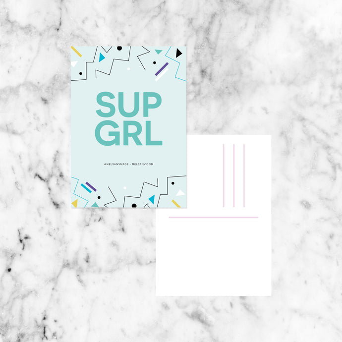 SUP GIRL Postcard Pack