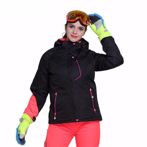 Womens Ski Snowboard Fitted Jacket