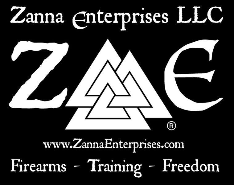 ZE the new Logo and FFL name for Zanna Enterprises LLC