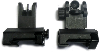 Pro Series Made in the USA Front and Rear Flip up sights Polymer