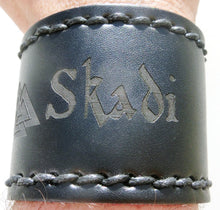 Skadi Leather Wristband