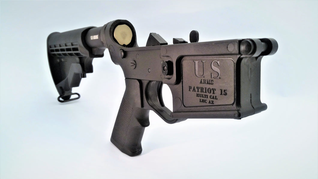 US ARMS polymer AR15 lower Patriot I