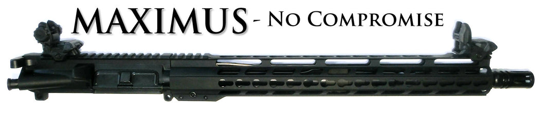 MAXIMUS - NO COMPROMISE AR15 Complete 5.56 FREE SHIPPING FREE SIGHTS