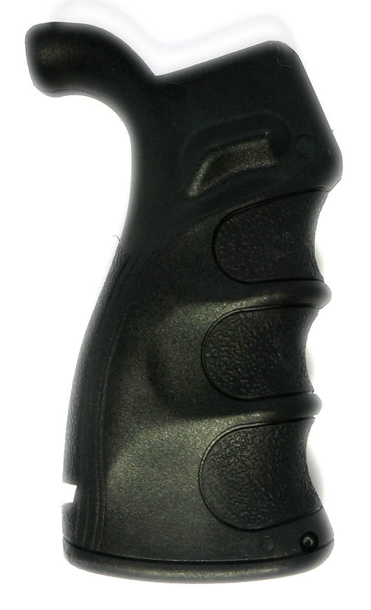 AR 15 Pistol Grip Finger groove -Storage Made in the USA