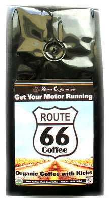 Route 66 Organic Coffee - Get your Motor Running!