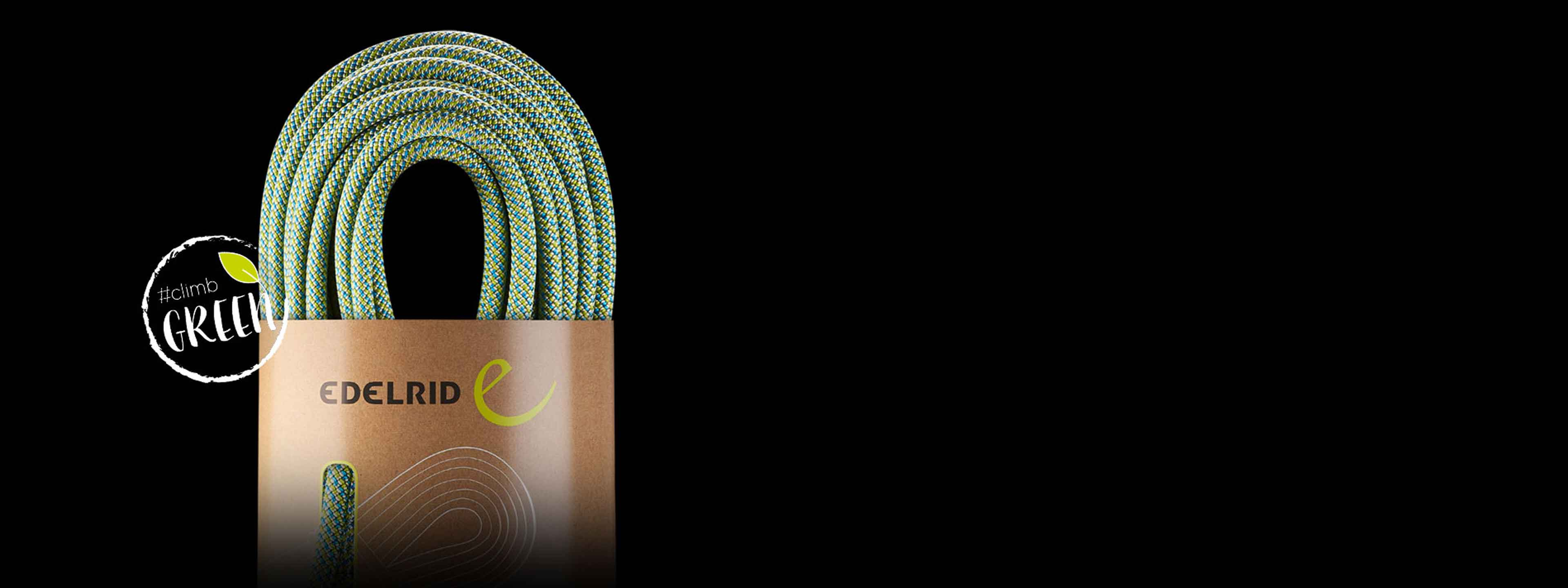 Edelrid recycled climbing rope neo 3r HP header