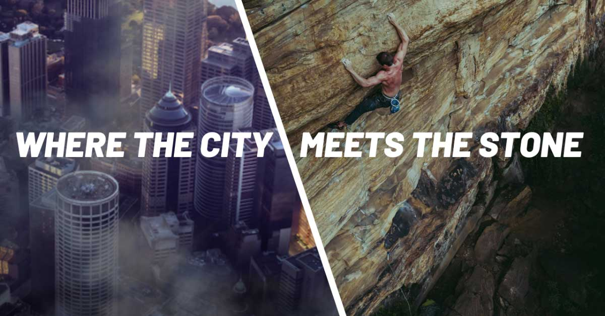 Where the city meets the stone - rock climbing film