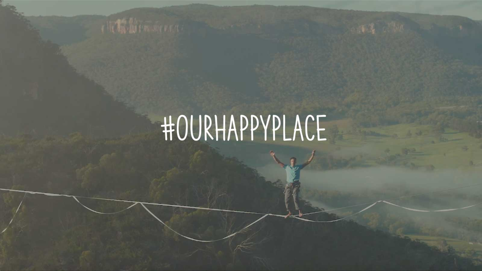 Mountain Equipment Australia - Our Happy Place - Keep the psych