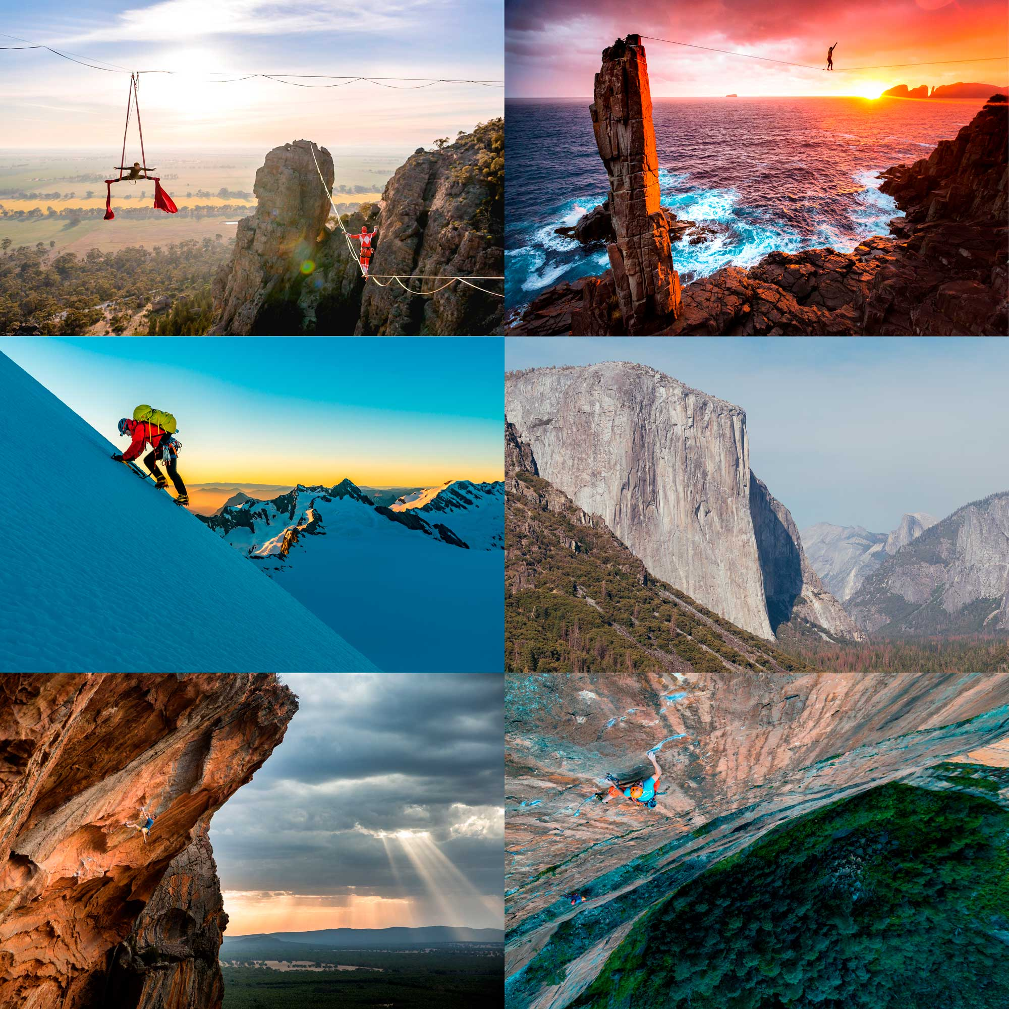 Professional Photography Prints - Climbing, Landscapes, Slacklining, Canyoning and more