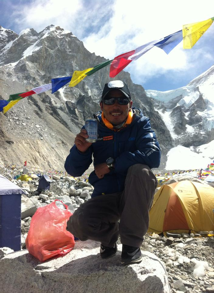 Ankaji at the beginning of the Everest season