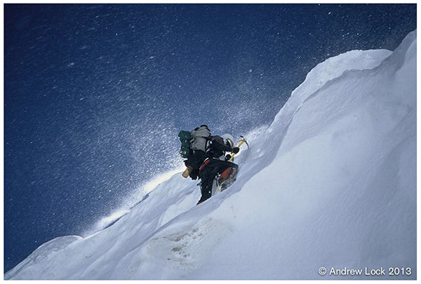 Andrew Lock high on Annapurna