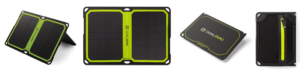 Goal Zero Nomad 7 Plus Smart Solar Panel. Simple, Sleek, with plenty of power