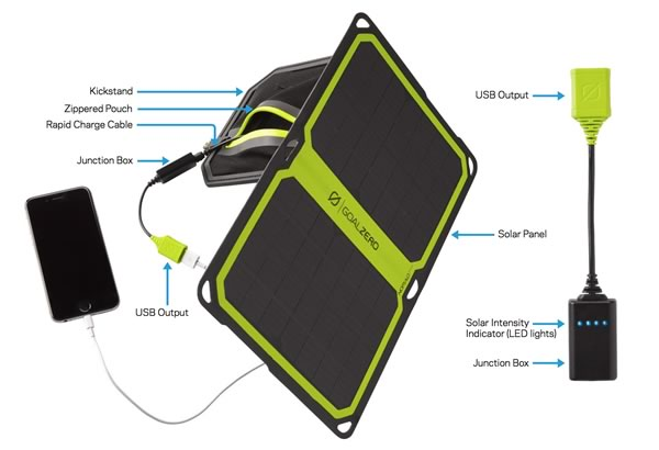 Features of the New Nomad 7 Plus Smart Solar Panel from Goal Zero