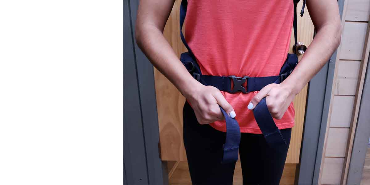 Hiking Pack Fitting Guide 3 hip belt