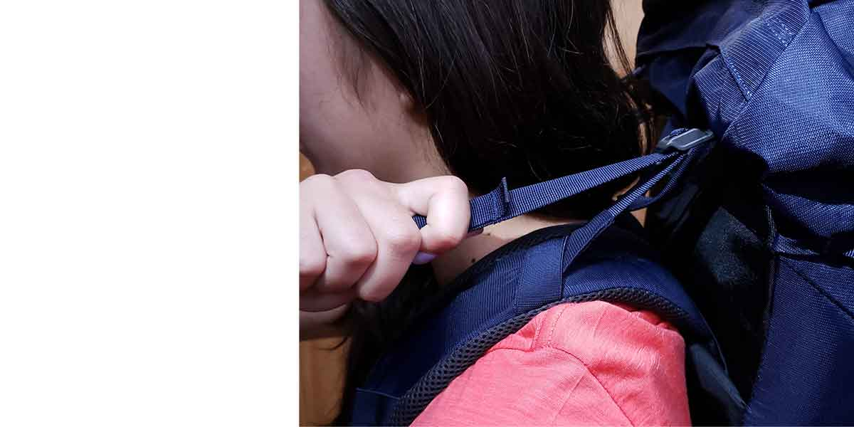Hiking Pack Fitting Guide 6 top stabilising straps